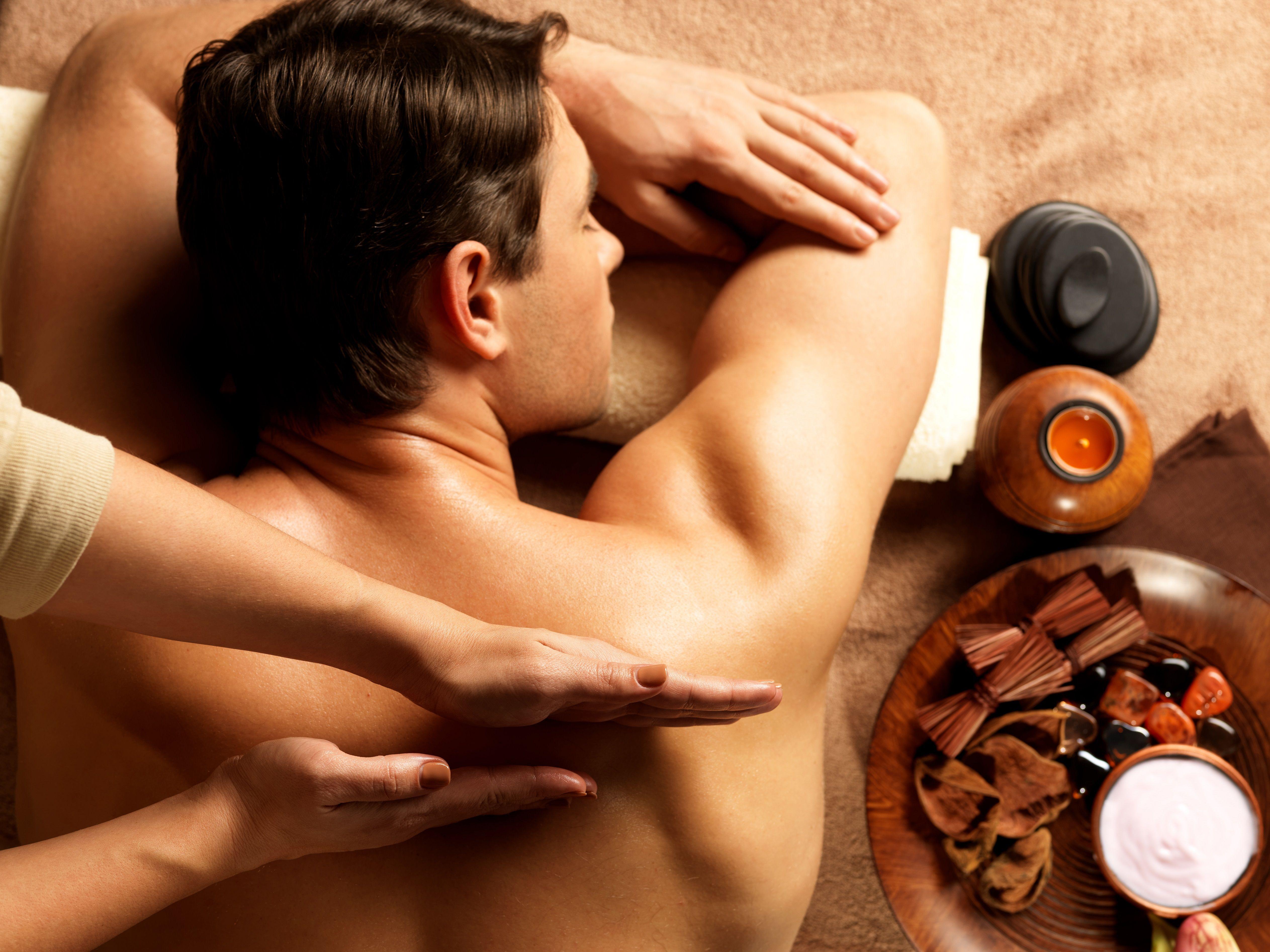 очень тайский массаж мужчин видео прикосновения, развратные фантазии